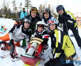52 Courageous Children Go Skiing, Conquer Fears (5TJT)